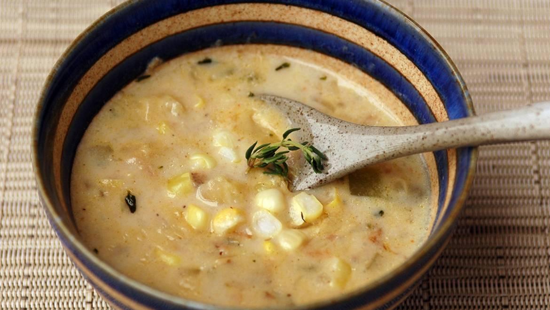 蘑菇粟米湯